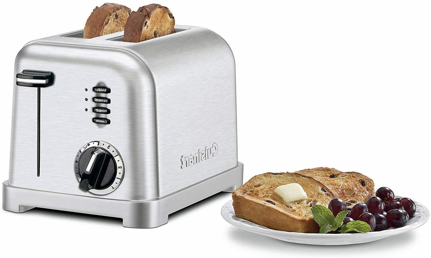 Cuisinart CPT-160P1 2-Slice Toaster Brushed Stainless