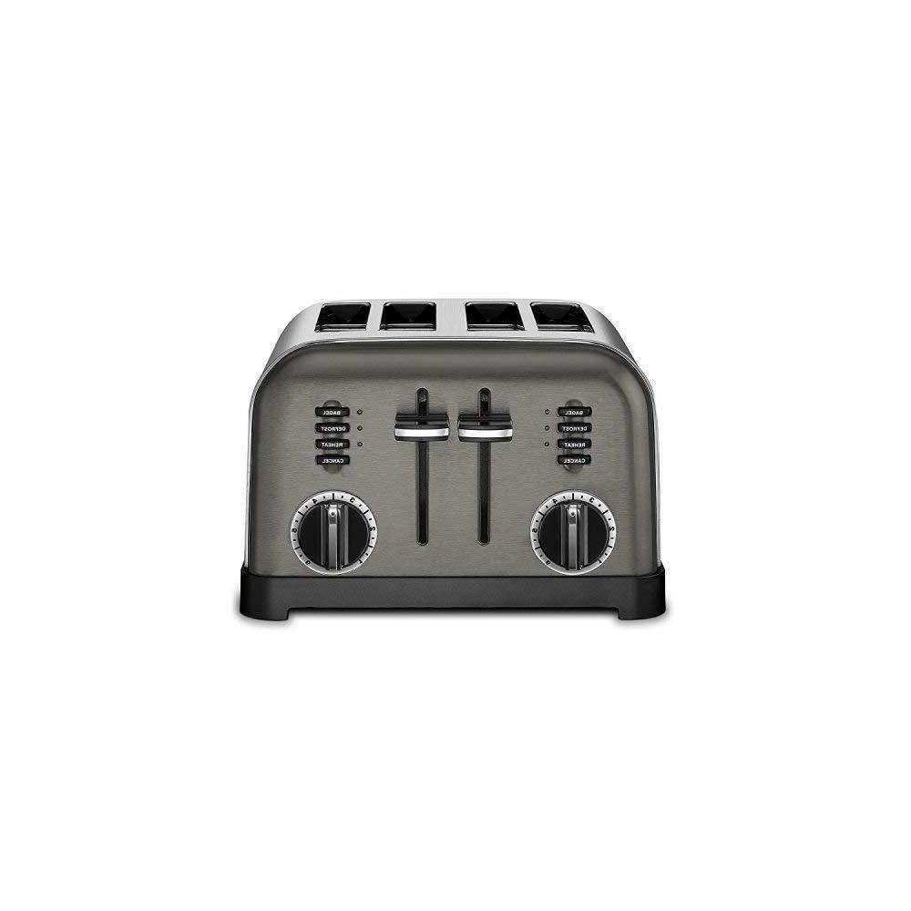 cpt 180bks metal classic toaster 4 slice