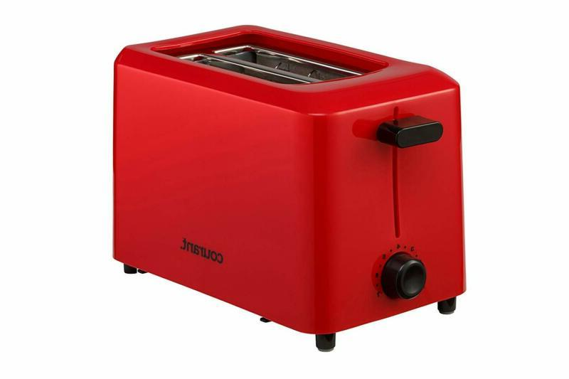 Courant CTP-2701R Cool Touch 2-Slice Toaster Red Extra Lift