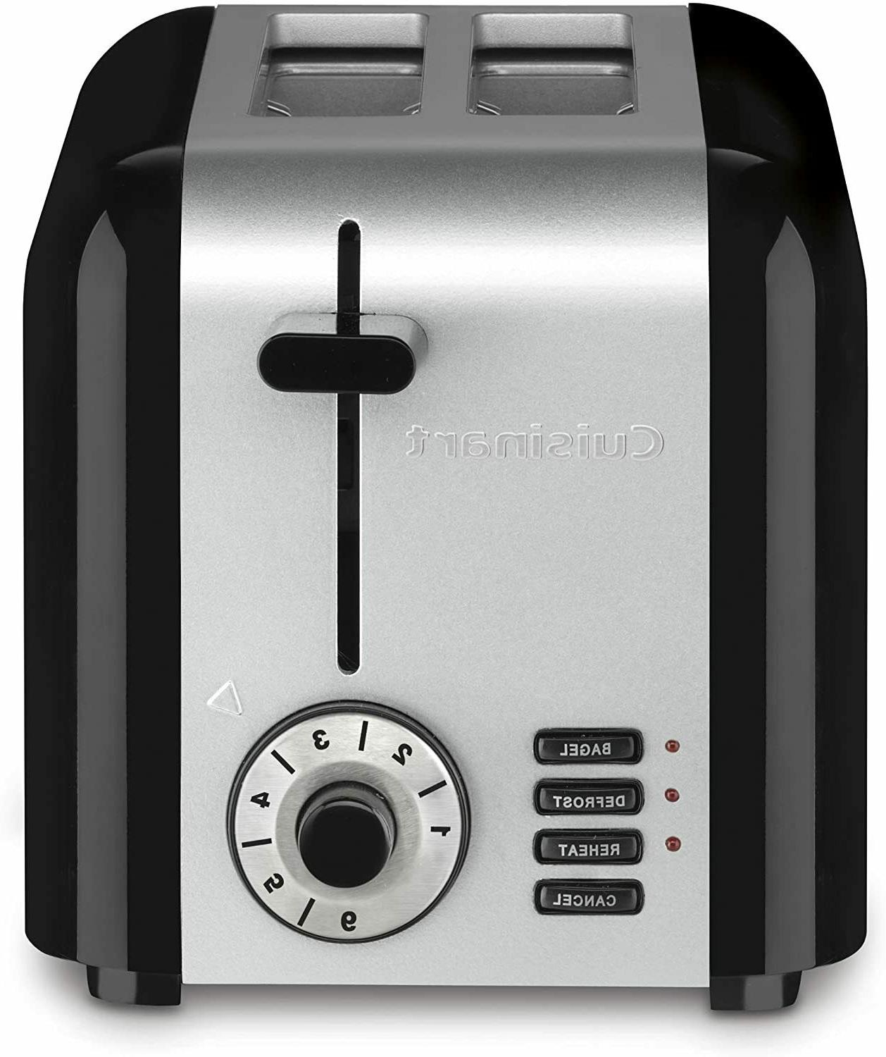 cpt 320p1 compact stainless 2 slice toaster