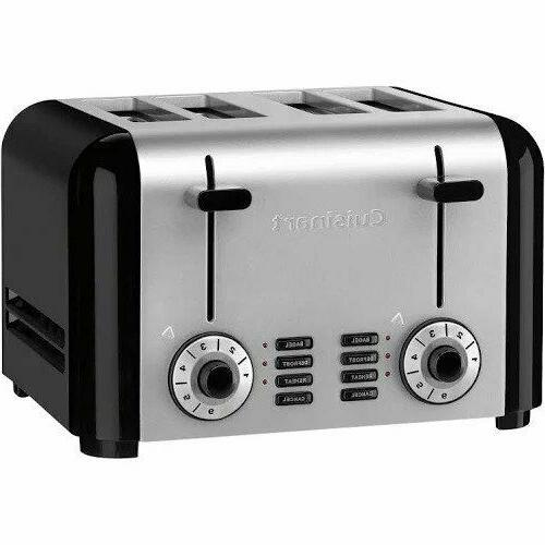 cuisinart cpt 340 compact stainless 4 slice