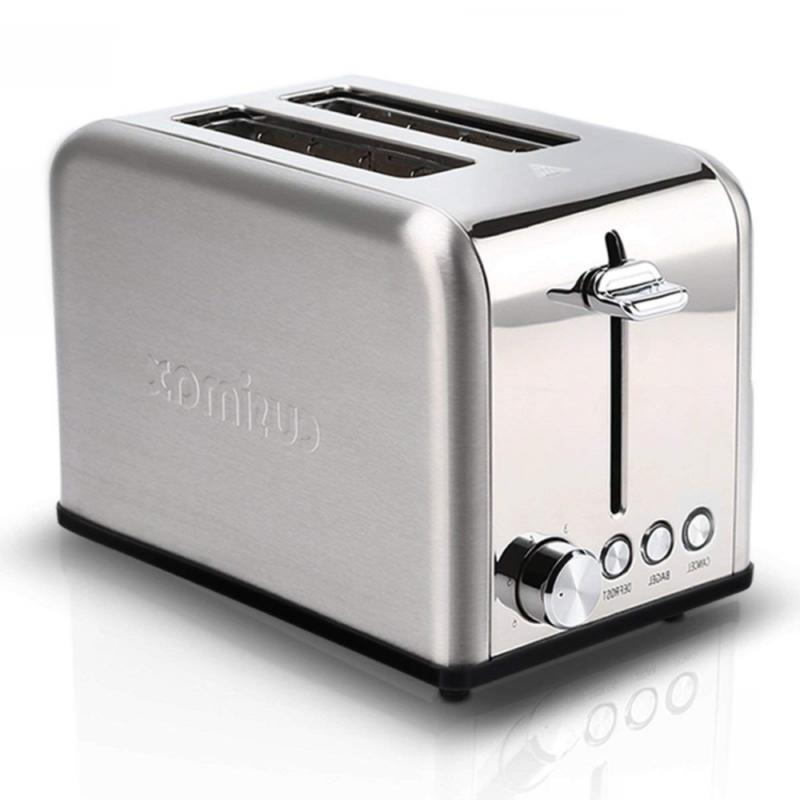 Cusimax 4-Slice Toaster with Bagel Function - 5 Shade Settin