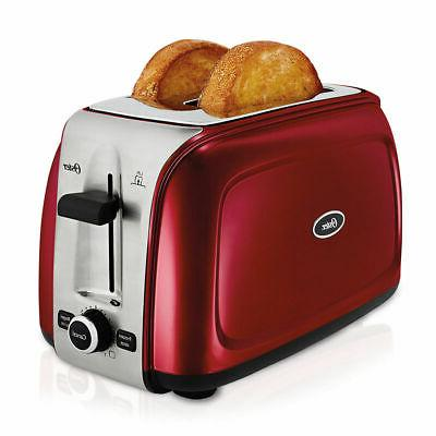 design to shine 2 slice toaster wide