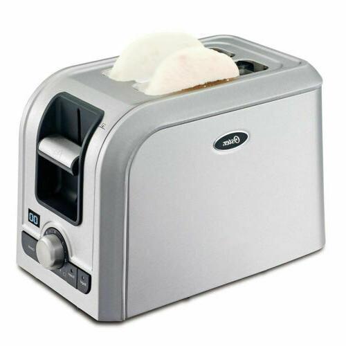 digital countdown 2 slice toaster w retractable