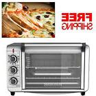 Electric Convection Oven Pizza Toaster Countertop Stainless