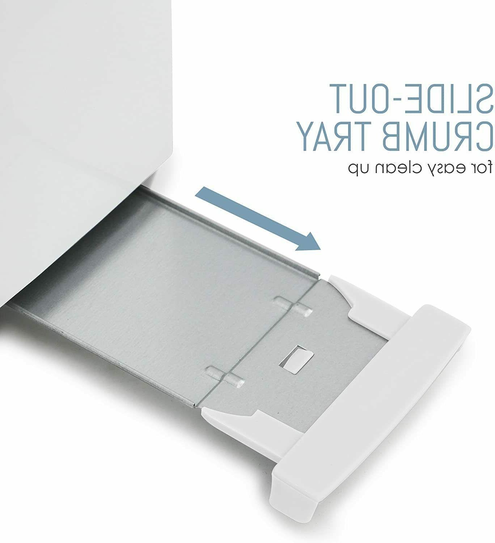 Toaster Slice Removable Slide Crumb Skid Feet Toaster