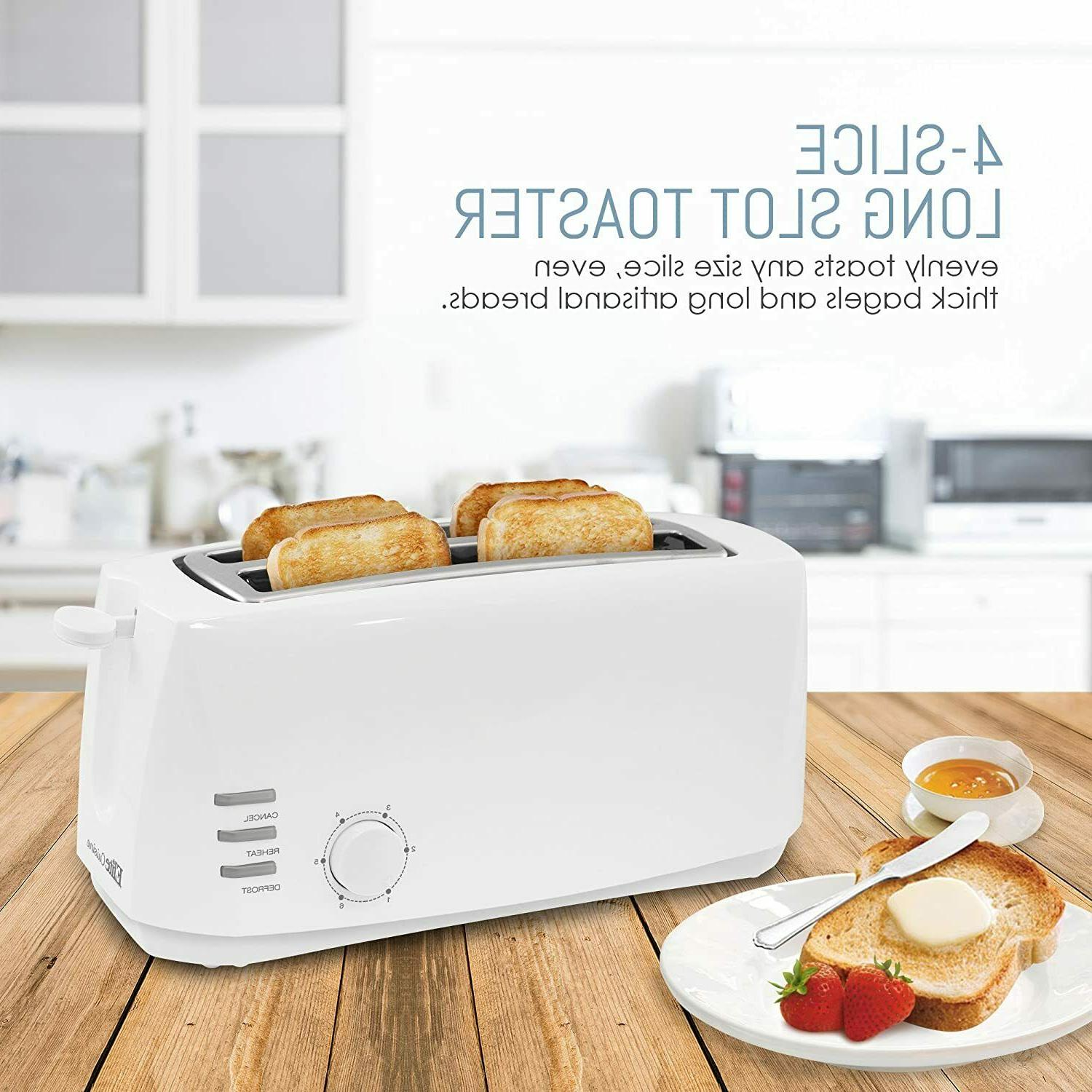 Toaster Slice Removable Slide Out Crumb Tray Non Feet Toaster