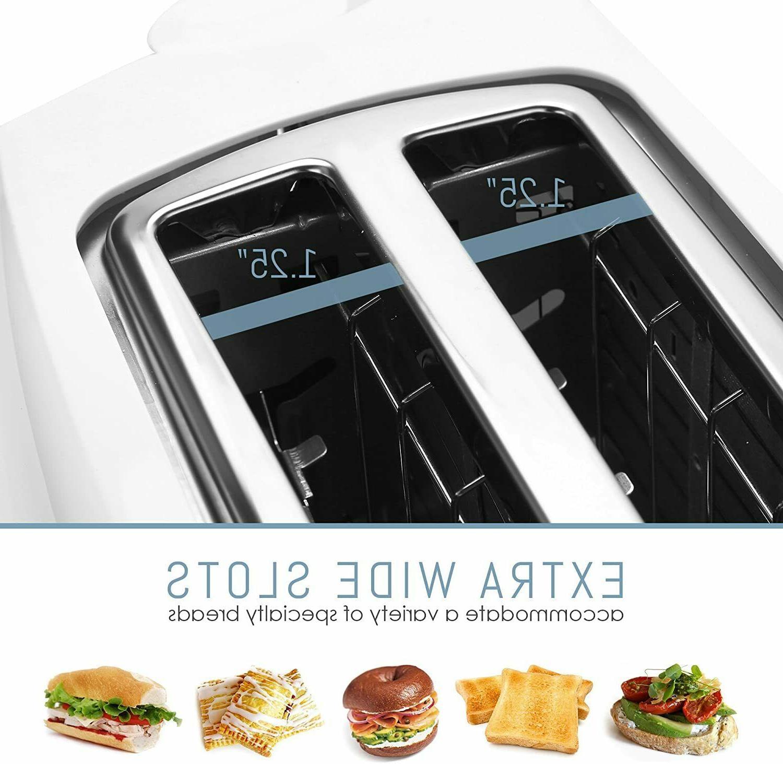 Toaster Extra 4 Slice Crumb Tray Feet