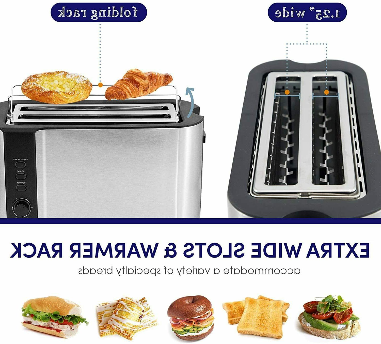 Elite Gourmet ECT-3100 4-Slice Long Toasting
