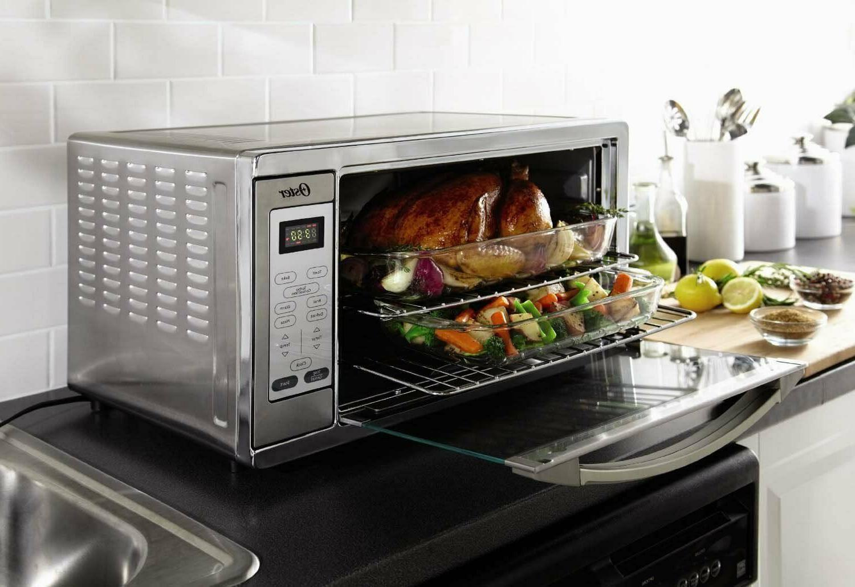 Ex LG Kitchen Convection Toaster Oven Countertop Digital Bak