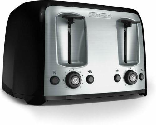 four slice toaster extra wide