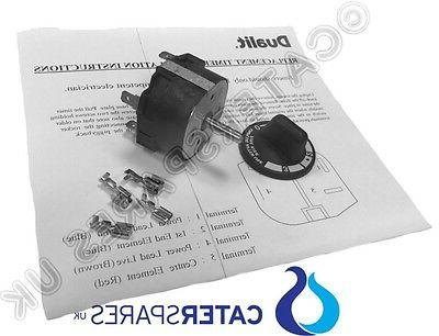 GENUINE DUALIT TOASTER TIMER CONTROL SWITCH INC KNOB SCREWS