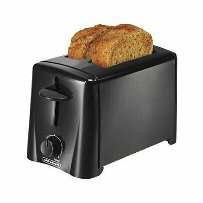 Hamilton Beach 22612 2 Slice Black Toaster