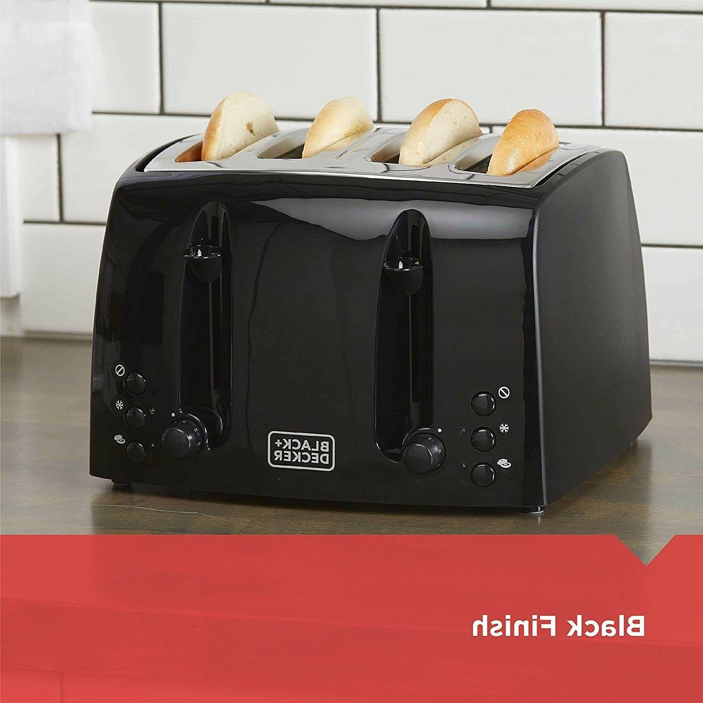household kitchen small appliance 4 slice toaster