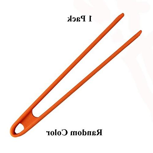 kitchen silicone trivet tongs heat