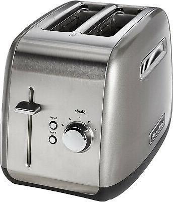 kmt2115cu toaster contour silver