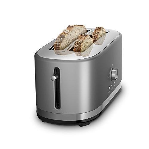 KitchenAid 4 Long Toaster High Lift Silver