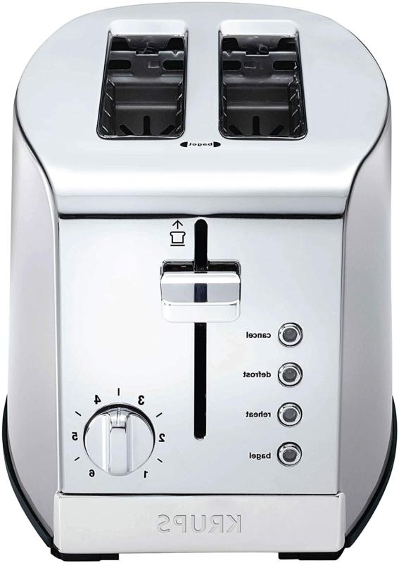 New KH732D50 2-Slice Toaster, Stainless Steel Toaster, 5 Fun