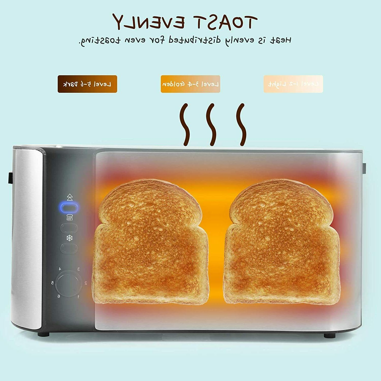 Elite Gourmet 4 Long Wide Bread