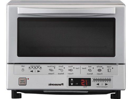 Panasonic NB-G110P Flash Xpress Toaster Oven, Silver Color..