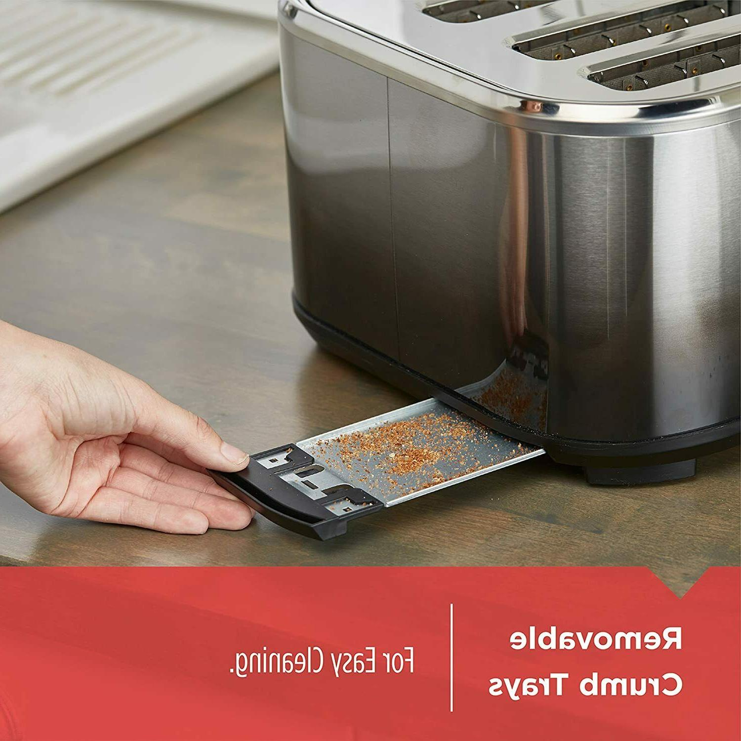 NEW BLACK+DECKER Extra-Wide Slot Toaster, Ombré Finish