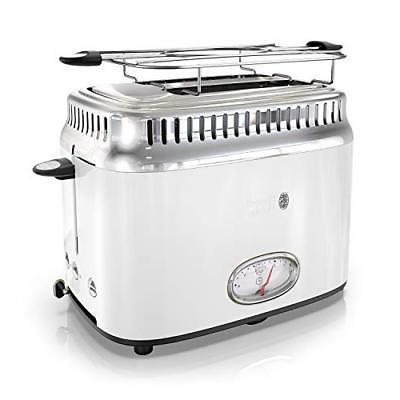 new tr9150wtr retro style toaster 2 slice