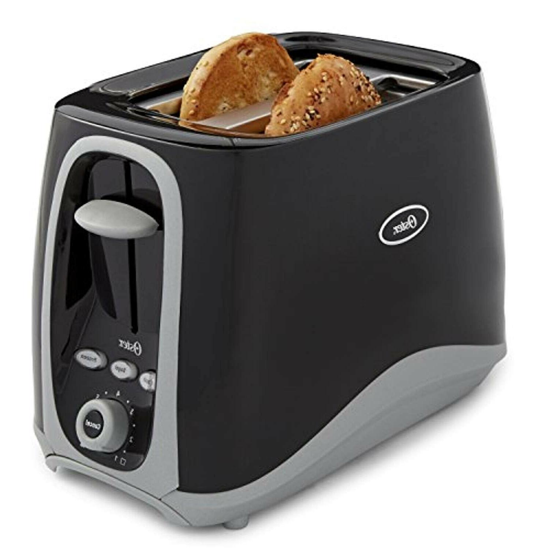 oster 2 slice toaster black 006332 000