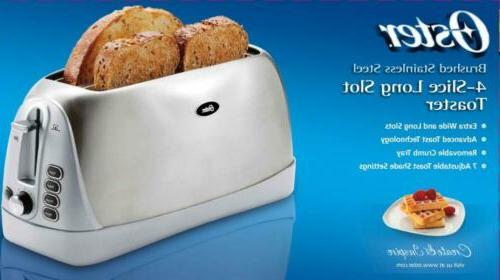 Oster 4-Slice Toaster, Stainless