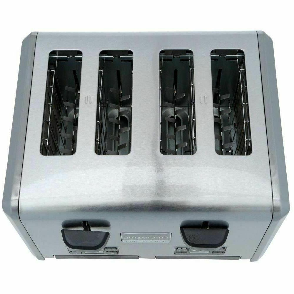 Frigidaire Professional 4 Wide Slots Stainless Steel