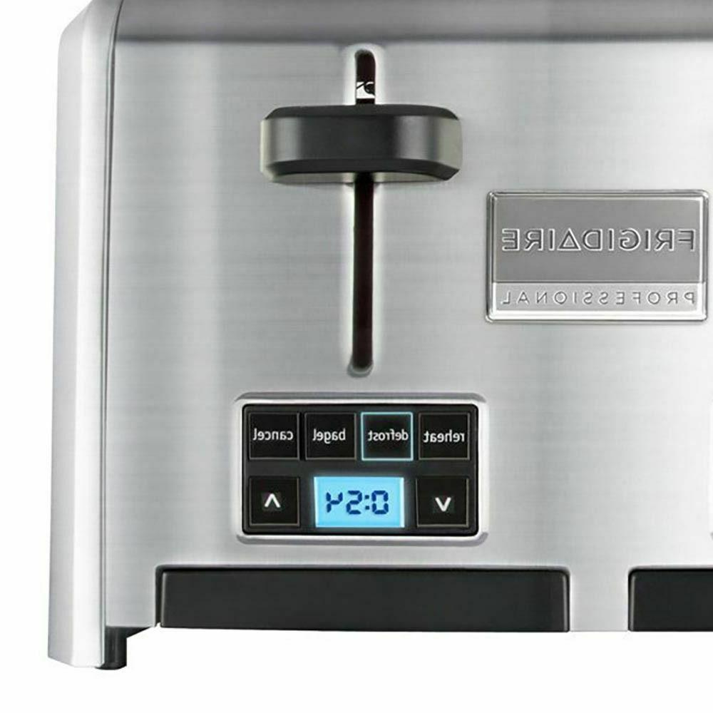 Frigidaire Wide Slots Stainless Toaster