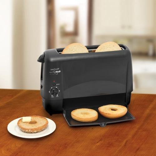 West Bend Quik-Serve Bread and with 6 Cool Touch with Black Finish