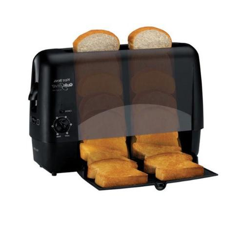 West Bend Quik-Serve Bread and Bagel with Cool Black Finish