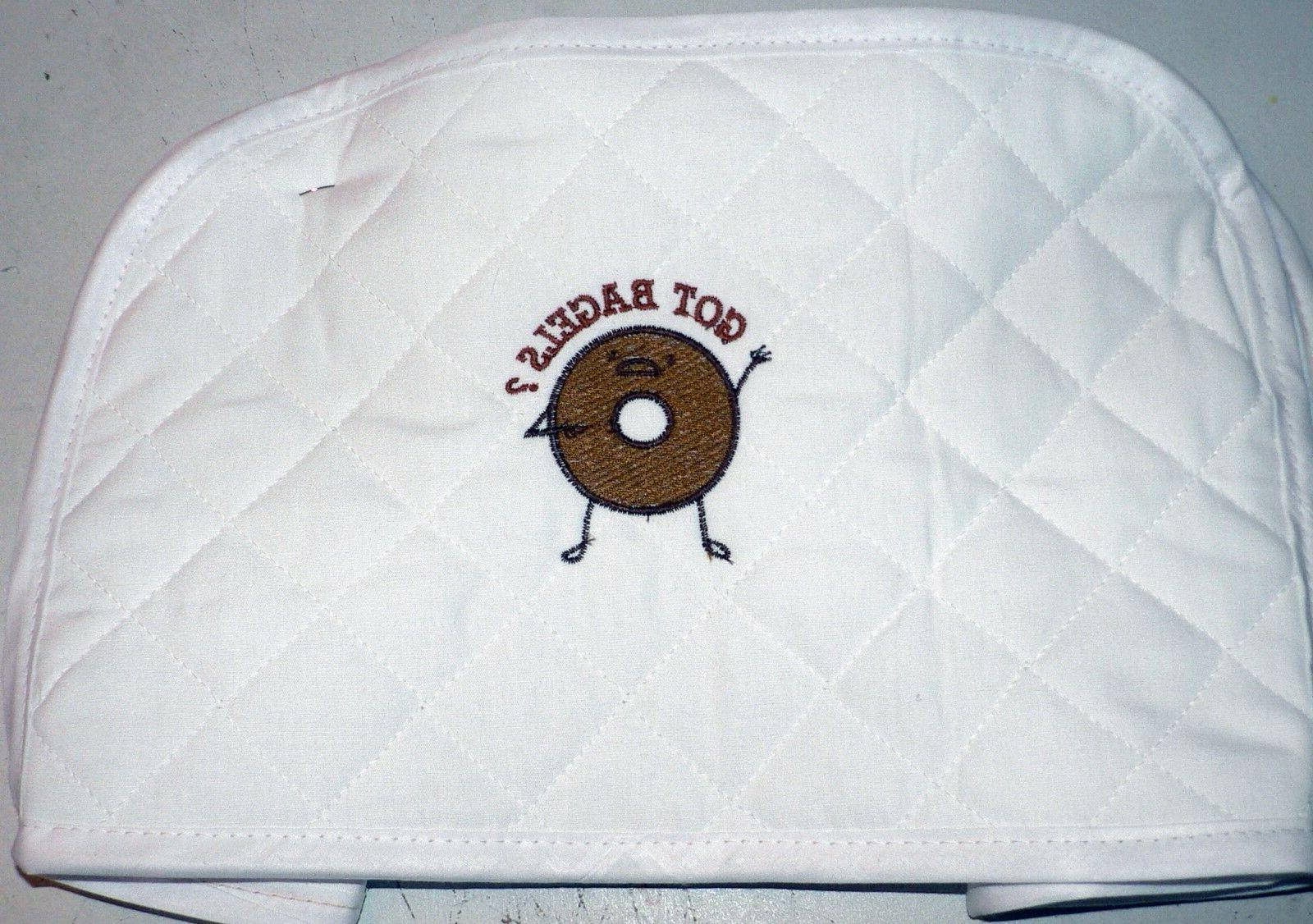 Quilted 2 or 4 Slice Toaster Cover Made to Order SEND YOUR M