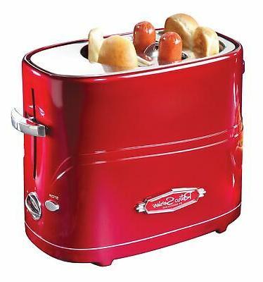 nostalgia retro pop up hot dog toaster
