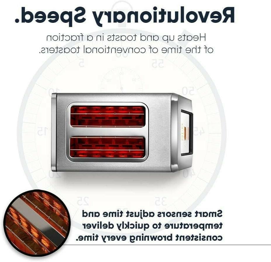 Revolution Cooking R180 Smart Toaster 2-Slice Steel Toaster