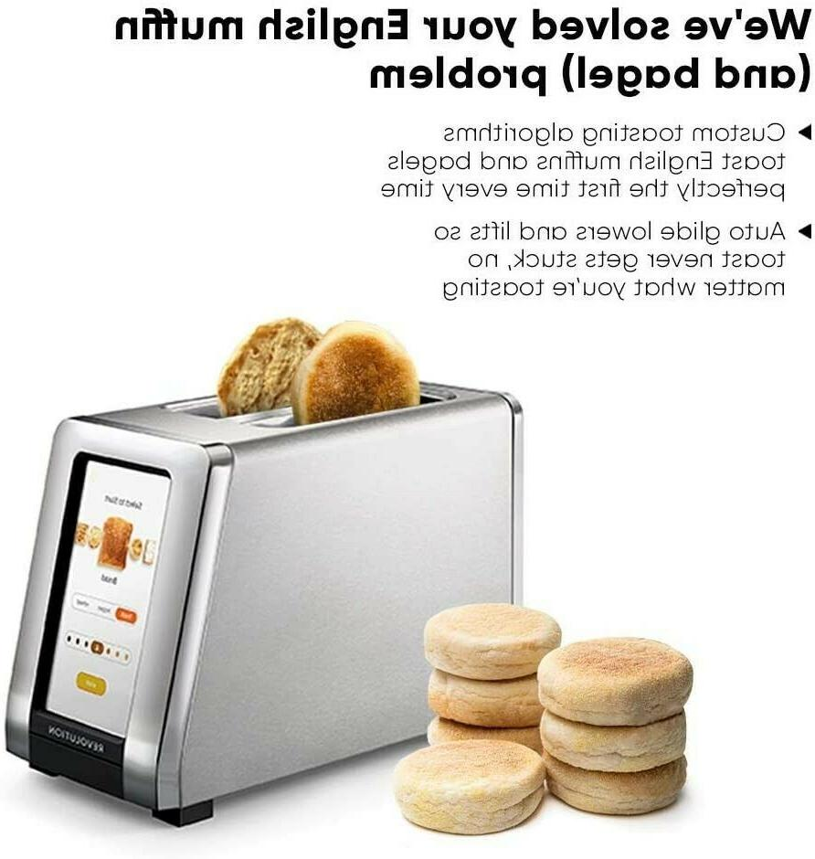 Revolution High-Speed Smart Toaster 2-Slice Stainless Steel