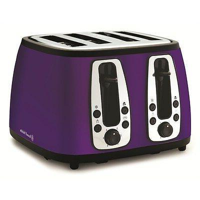 Russell Hobbs 4 Slice Toaster - Royal Purple *NEW!* + Warran