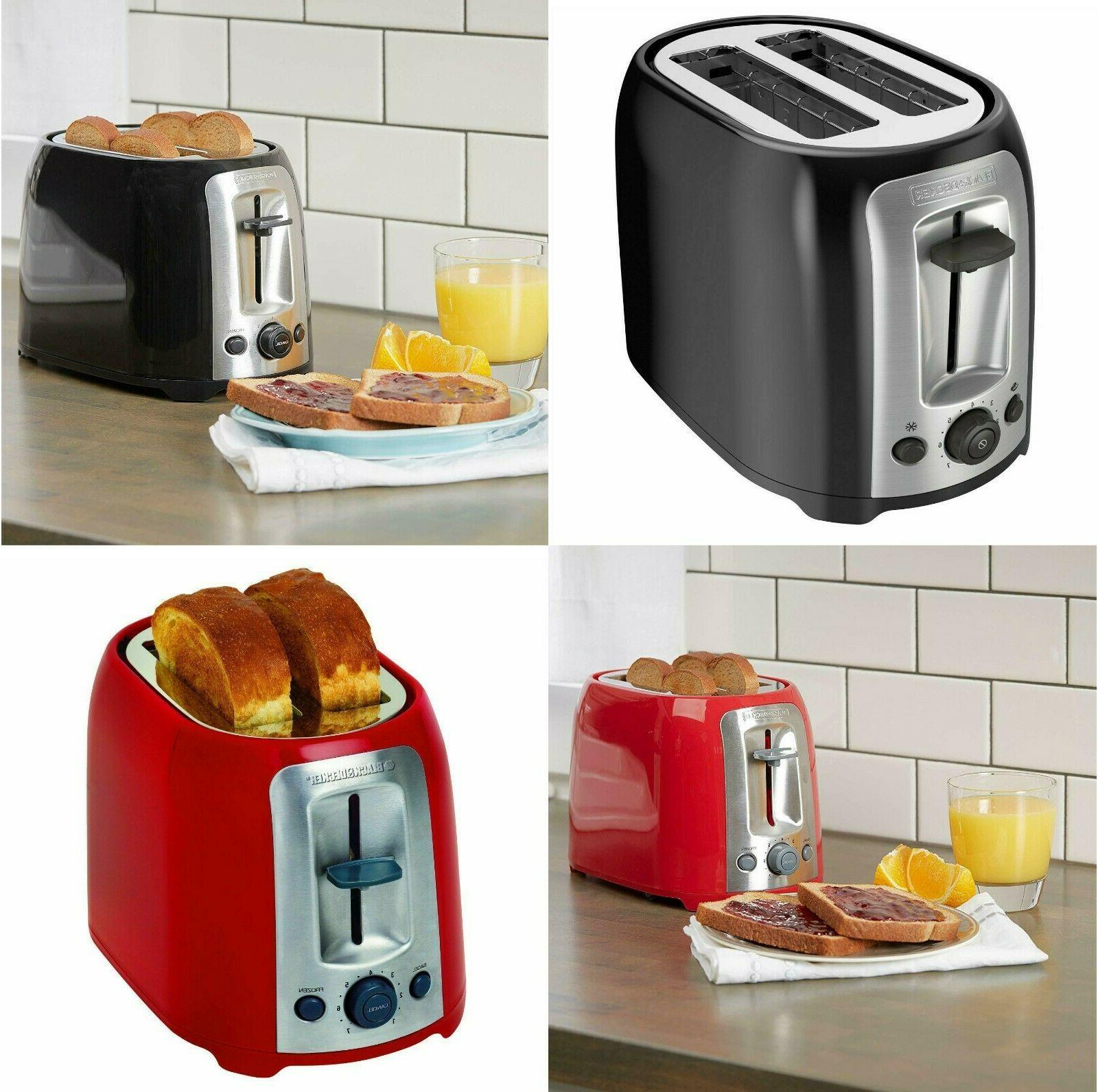 sale new black decker 2 slice toaster