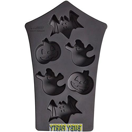 silicone mold 6 cavity haunted
