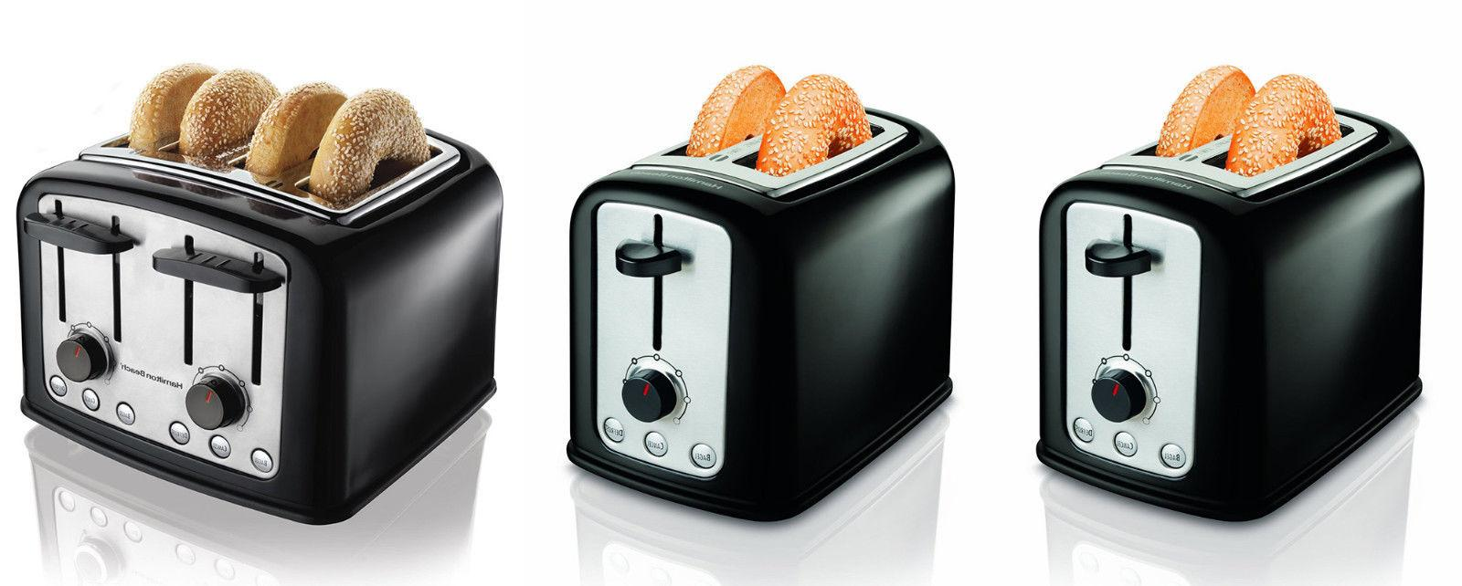 Hamilton Beach SmartToast Cool-Touch 2, 4 Slice Slot Toaster