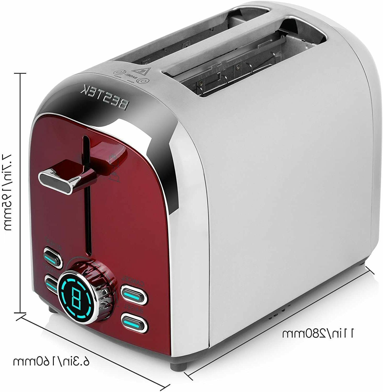 BESTEK Digital Toaster, Extra Slot Bagel