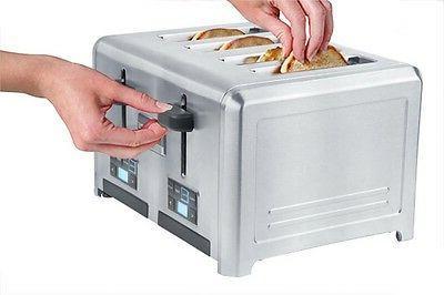 Frigidaire Professional Steel 4-Slice Toaster
