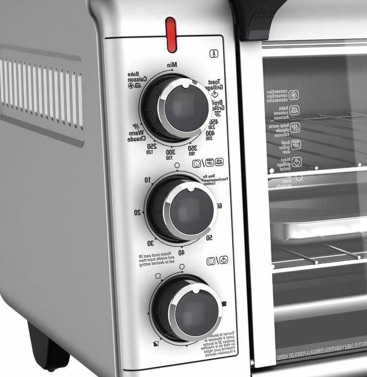 Stainless Steel Toaster Baking BLACK DECKER