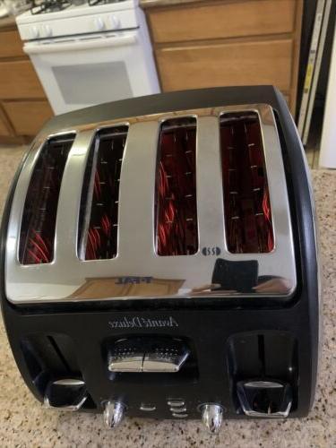 T-Fal Black 4 Bagel Toaster