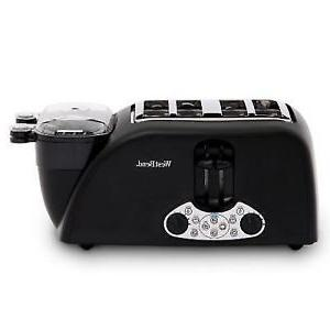 tem4500w egg and muffin toaster 4 slice