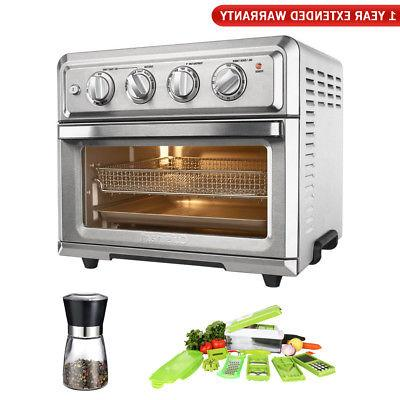 Cuisinart TOA-60 Convection Toaster Oven Air Fryer w/Chop Wi