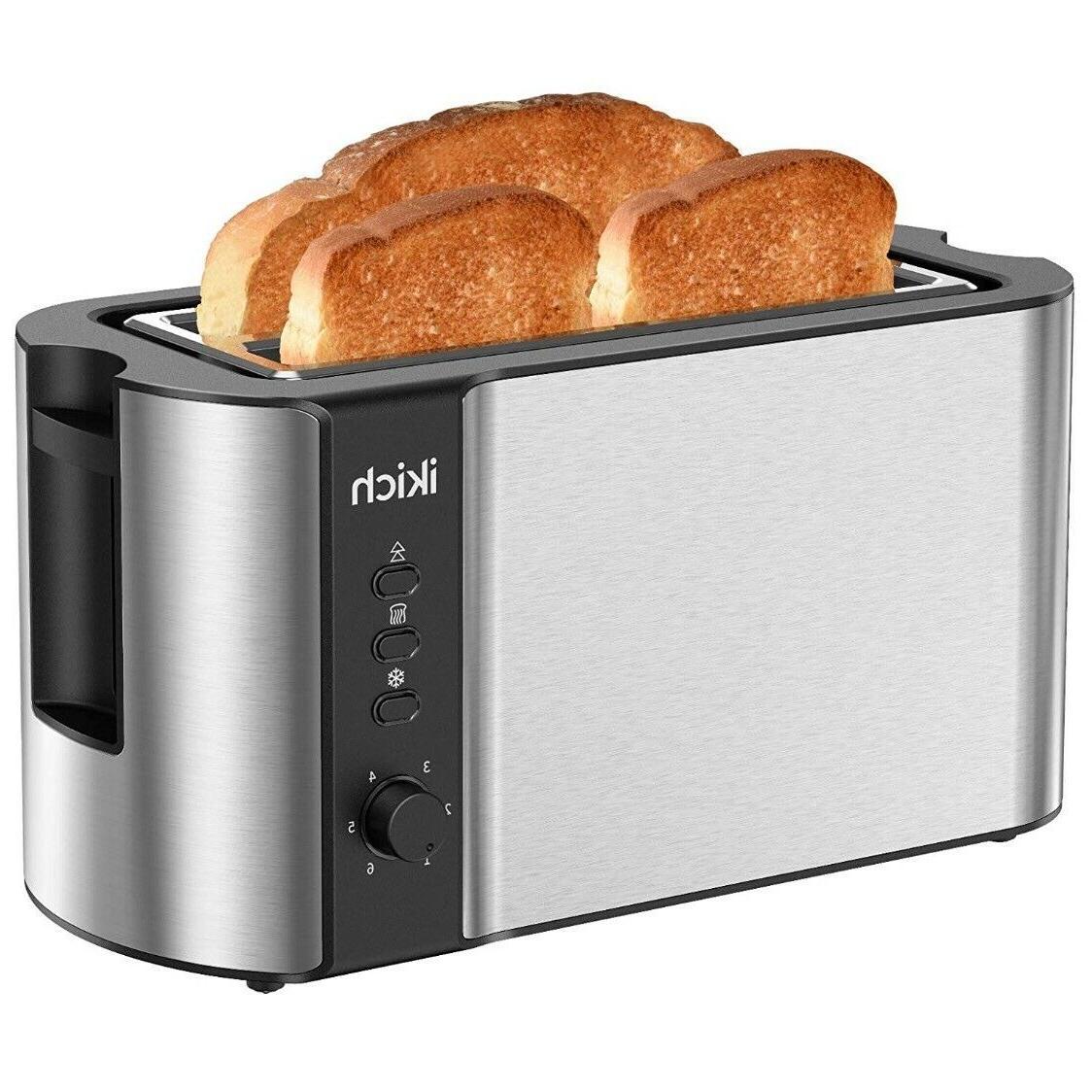 toaster 2 long slot toaster 4 slice
