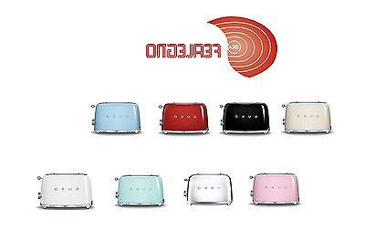 TOASTER 2 SLICES STEEL PAINTED ALL COLOURS AESTHETICS YEARS