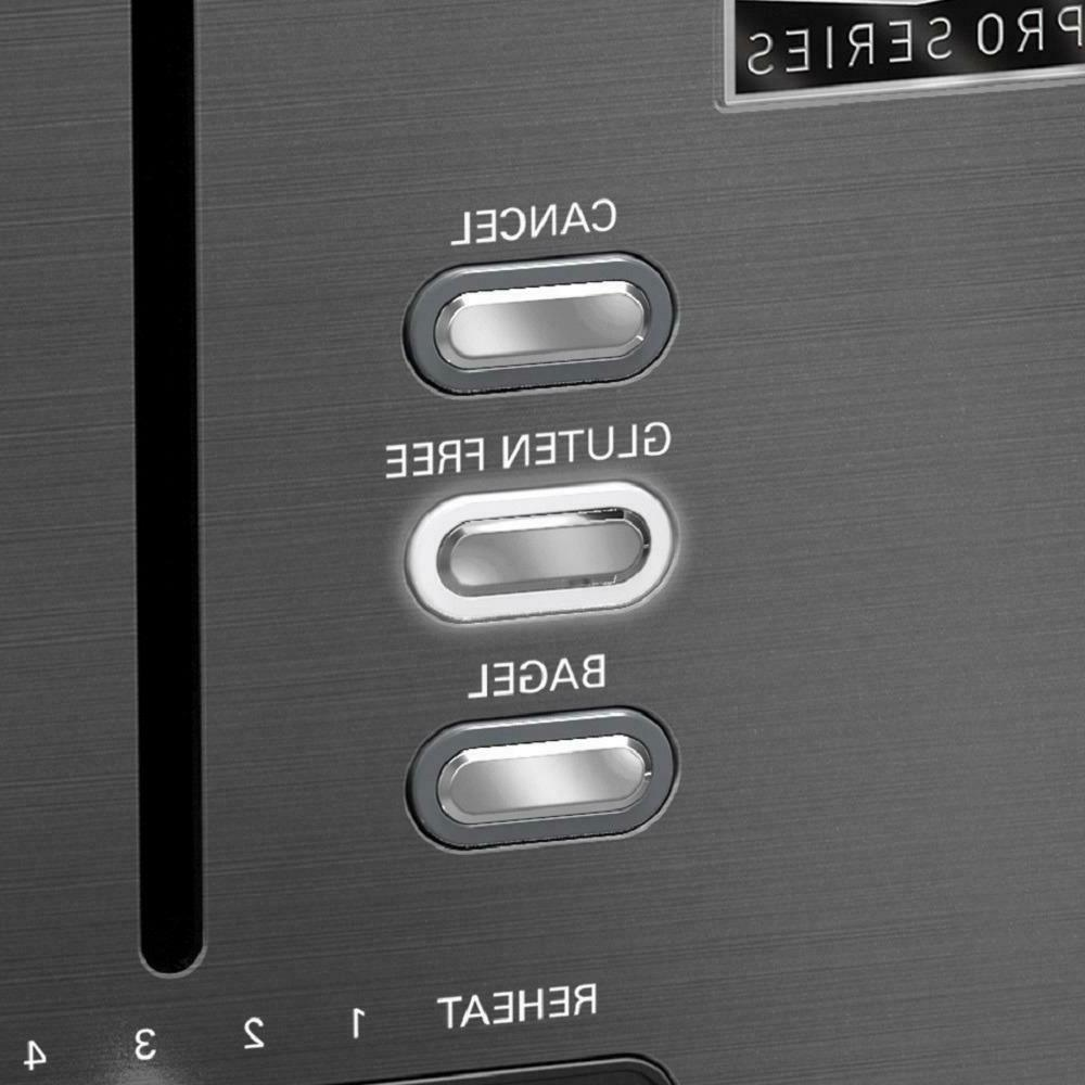 Toaster 4 Extra Wide Slot 6 Pro Stainless Steel