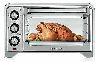 Black & Decker Toaster Oven/Broiler 4 Slice, 9 In. Pizza Sta